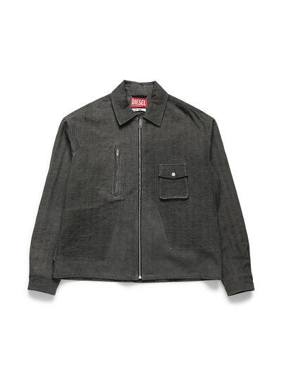 Diesel - ACW-SH02, Black - Denim Shirts - Image 1