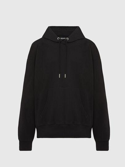 Diesel - S-ALBY-COPY-J1, Black - Sweatshirts - Image 1