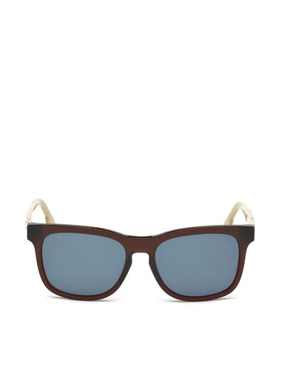 Diesel - DL0151, Red - Sunglasses - Image 1