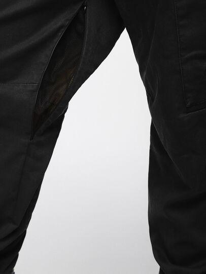 Diesel - Phanto JoggJeans 0EATZ, Black/Dark Grey - Jeans - Image 4