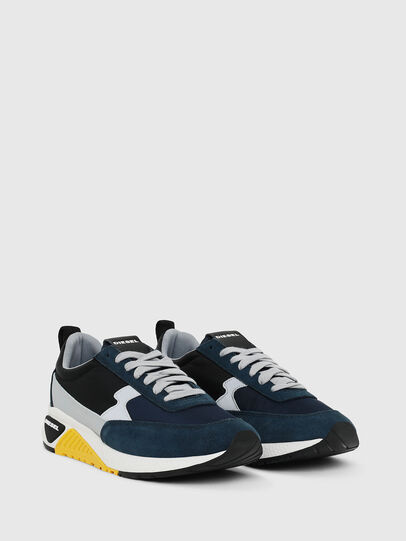 Diesel - S-KB LOW LACE II, Dark Blue - Sneakers - Image 2