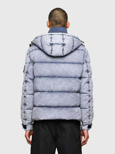 Diesel - W-EVACID-A, Light Blue - Winter Jackets - Image 2