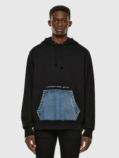 Diesel - S-THOS, Black - Sweatshirts - Image 5