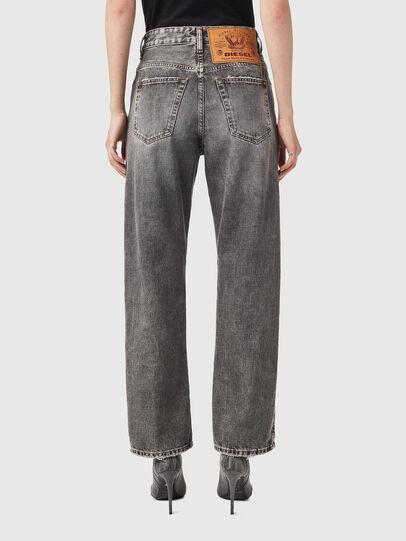 Diesel - D-Reggy Straight Jeans 09B13, Black/Dark grey - Jeans - Image 2