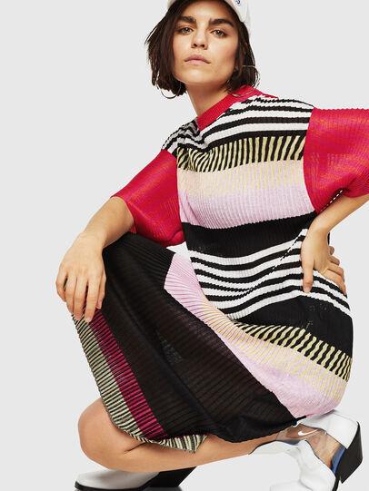 Diesel - M-FINAL-A, Multicolor - Dresses - Image 4
