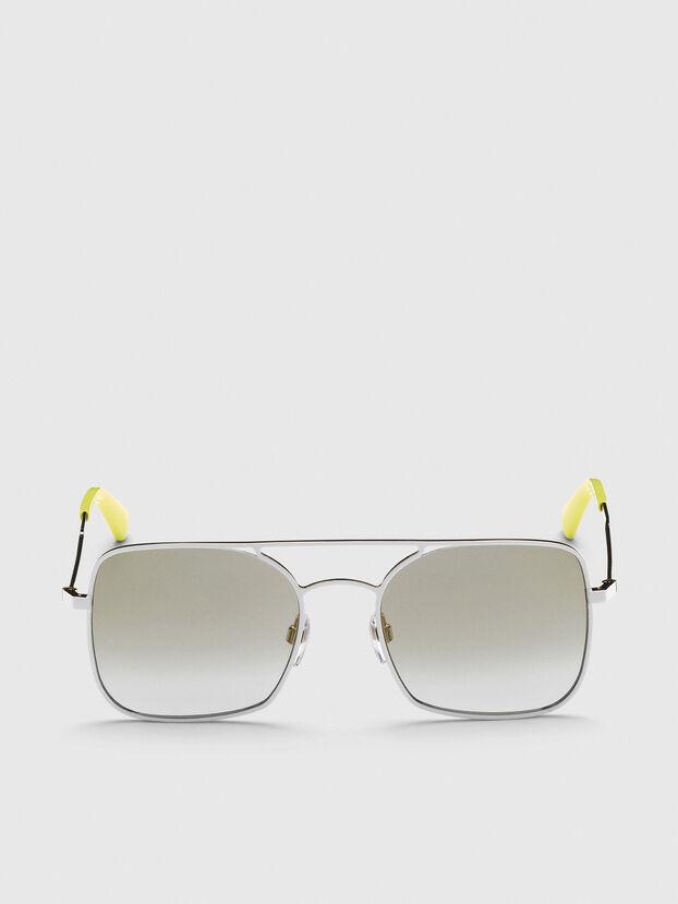 DL0302, Silver - Sunglasses
