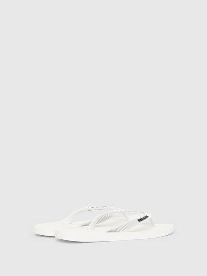 Diesel - SA-KAUAY, White - Slippers - Image 3