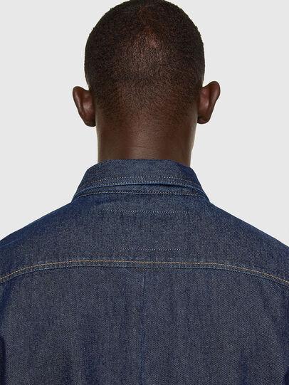 Diesel - D-RAPP, Azul Oscuro - Camisas de Denim - Image 4