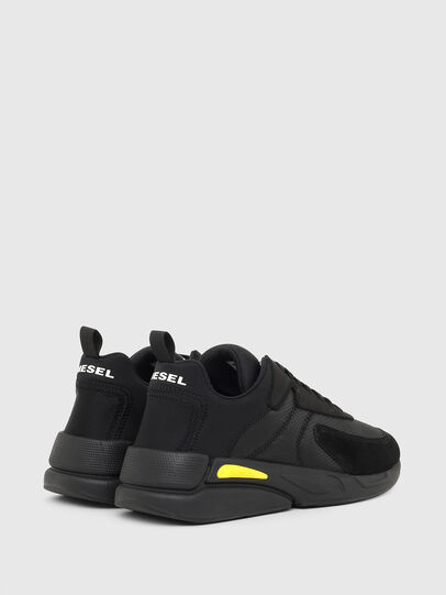 Diesel - S-SERENDIPITY LOW CU, Black/Yellow - Sneakers - Image 3