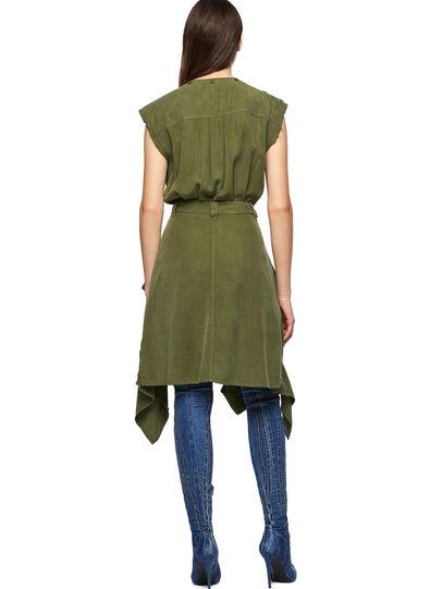 Diesel - D-GIUDITTA, Olive Green - Dresses - Image 2