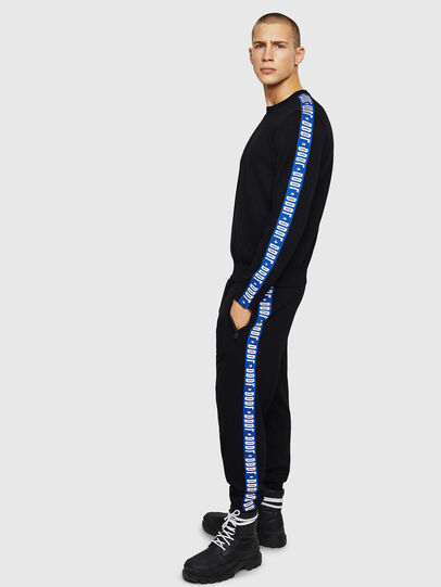 Diesel - K-TRACKY-B, Black/Blue - Sweaters - Image 5
