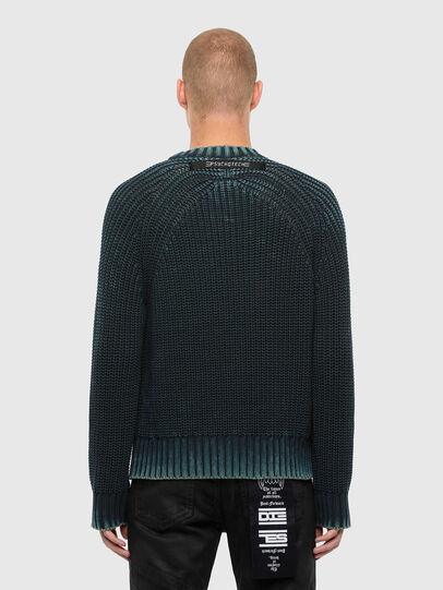 Diesel - K-LIAM, Dark Blue - Sweaters - Image 2