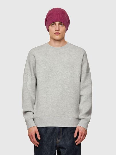 Diesel - S-KRIB, Grey - Sweatshirts - Image 1