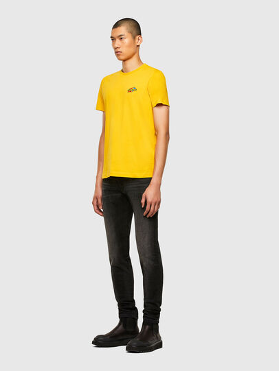 Diesel - T-DIEGOS-K36, Yellow - T-Shirts - Image 4
