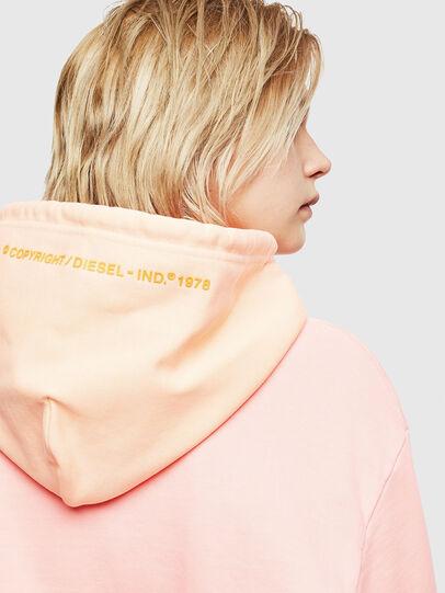 Diesel - S-CRAZY, Pink - Sweatshirts - Image 6