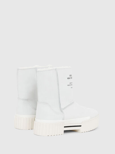 Diesel - H-MERLEY AB, White - Ankle Boots - Image 3