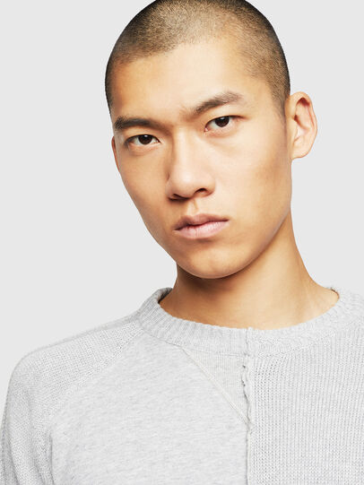 Diesel - K-BOX, Light Grey - Sweaters - Image 3