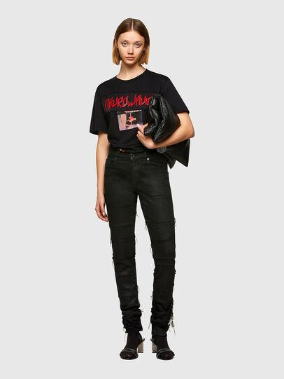 Diesel - T-AIRO, Black - T-Shirts - Image 5