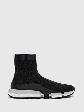 H-PADOLA MID SOCK, Black - Sneakers