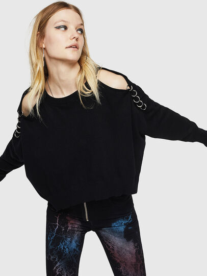 Diesel - M-NETTY, Black - Sweaters - Image 6