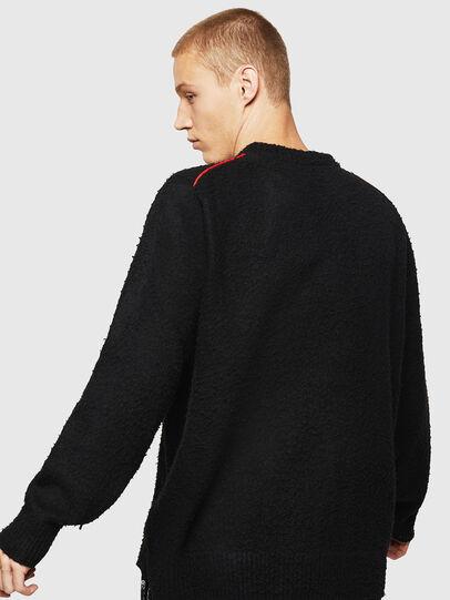 Diesel - K-CASY, Black - Sweaters - Image 2