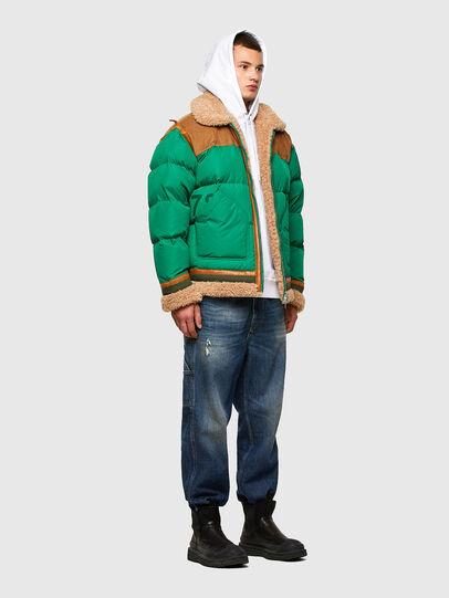 Diesel - W-EVAN-A, Green - Winter Jackets - Image 7