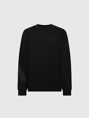 T-JUST-LS-X91, Black - T-Shirts