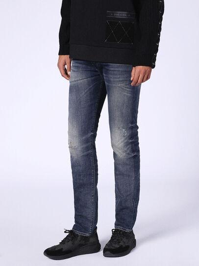 Diesel - Buster 0687U, Dark Blue - Jeans - Image 1