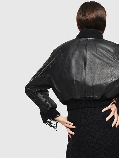 Diesel - L-MANUA,  - Leather jackets - Image 5