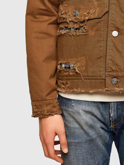 Diesel - J-BRUNO, Brown - Jackets - Image 5