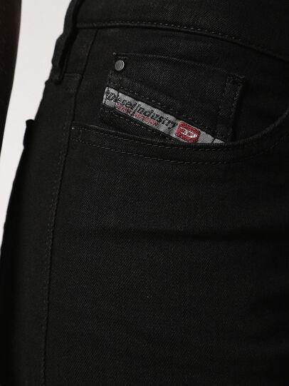 Diesel - Skinzee 0813E, Black/Dark Grey - Jeans - Image 4