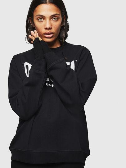 Diesel - F-ANG, Black - Sweatshirts - Image 5