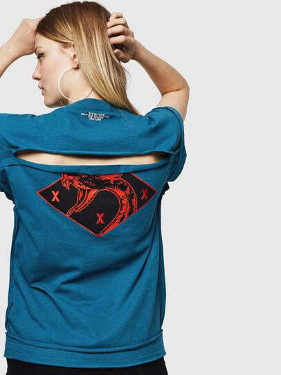 Diesel - T-JAIDA-A, Blue Marine - T-Shirts - Image 2