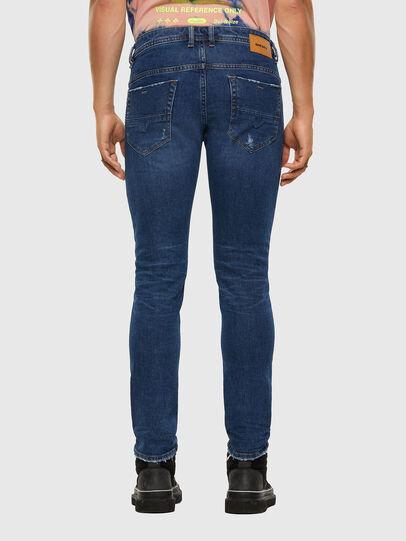 Diesel - Thommer Slim Jeans 009DE, Dark Blue - Jeans - Image 2