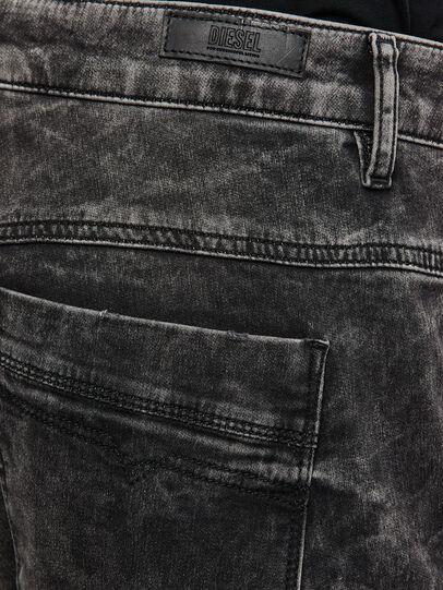Diesel - FAYZA JoggJeans® 009FZ, Black/Dark Grey - Jeans - Image 4