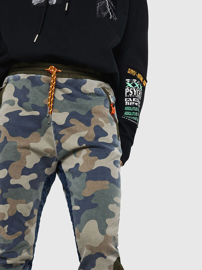 Diesel - D-Eeley JoggJeans 0GAUU, Green Camouflage - Jeans - Image 3