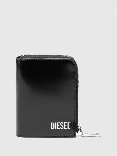 Diesel - L-12 ZIP, Negro - Carteras Con Cremallera - Image 1