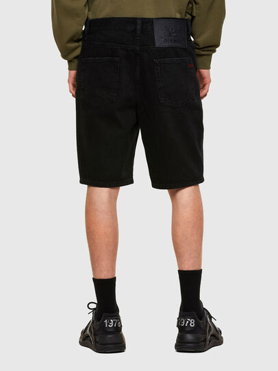 Diesel - D-STRUKT-SHORT, Negro - Shorts - Image 2