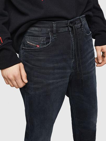 Diesel - D-Vider JoggJeans 069GE, Black/Dark Grey - Jeans - Image 3