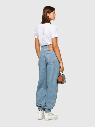 Diesel - D-Concias Boyfriend Jeans 009RQ, Light Blue - Jeans - Image 7