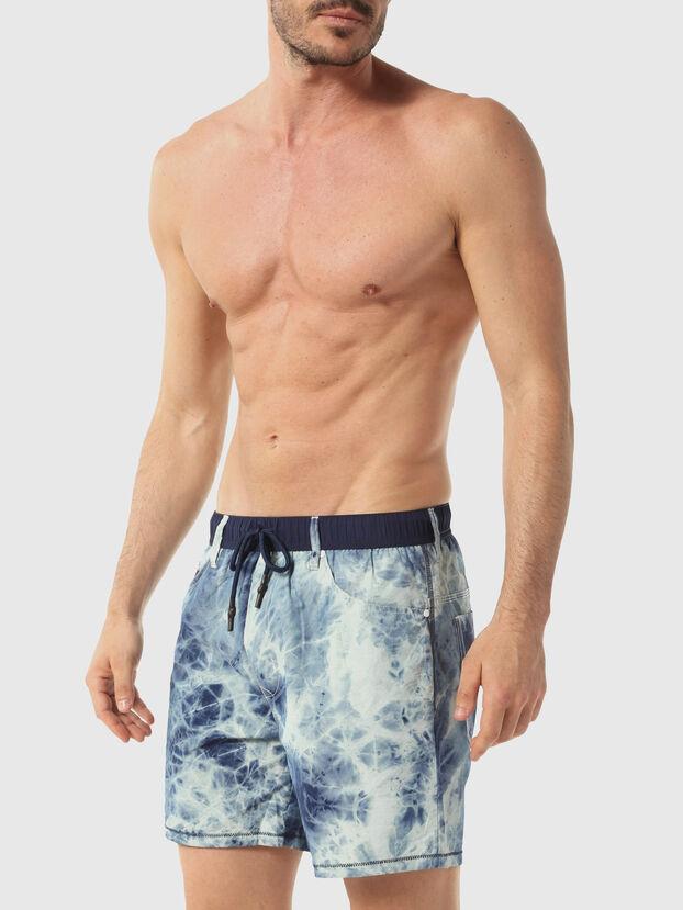BMBX-WAYKEEKI 2.017, Melange Blue - Swim shorts