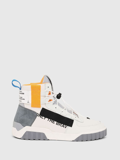 Diesel - S-RUA MID SP, White - Sneakers - Image 1