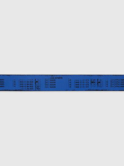 Diesel - B-DERUB, Black/Blue - Belts - Image 4