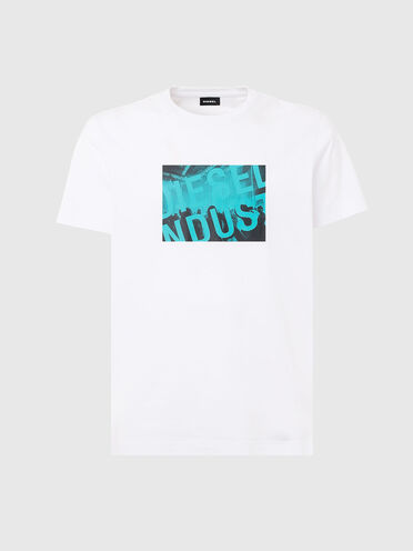 T-shirt with Diesel Industry logo print