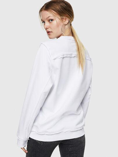 Diesel - F-LYANY-F, White - Sweatshirts - Image 2