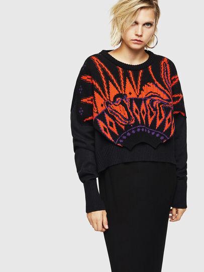 Diesel - M-TAO, Black - Sweaters - Image 1