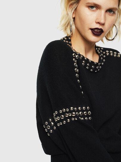 Diesel - M-KRIPX, Black - Sweaters - Image 5