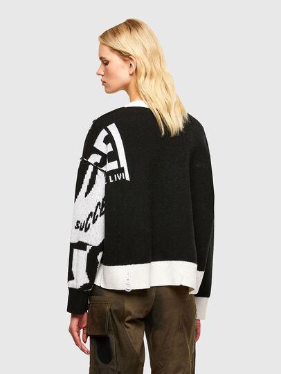 Diesel - M-ROSALINE, White/Black - Sweaters - Image 2