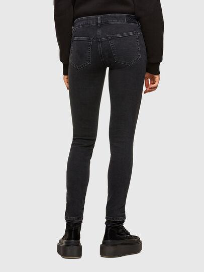 Diesel - D-Jevel Slim Jeans 0870G, Black/Dark Grey - Jeans - Image 2