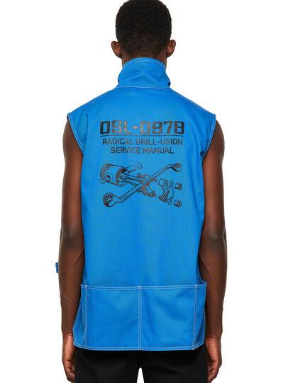 Diesel - J-HOWE, Blue - Jackets - Image 2